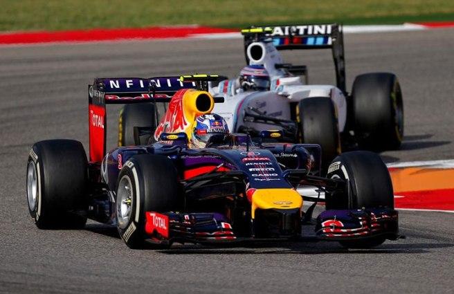 Gran carrera de Daniel Ricciardo, que logra subir nuevamente al pódium