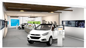 Hyundai abre un concesionario vritual en un centro comercial de Londres