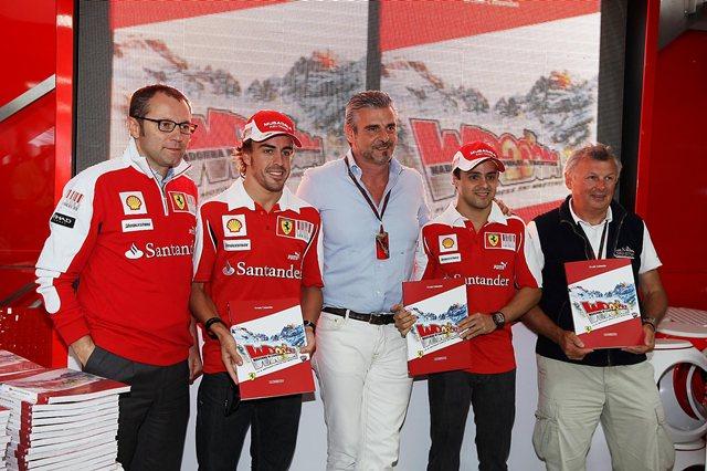 Maurizio Arrivabene ha estado siempre muy vinculado a Ferrari