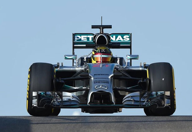 Pascal Wehrlein sorprendió a todos a bordo del Mercedes FW05