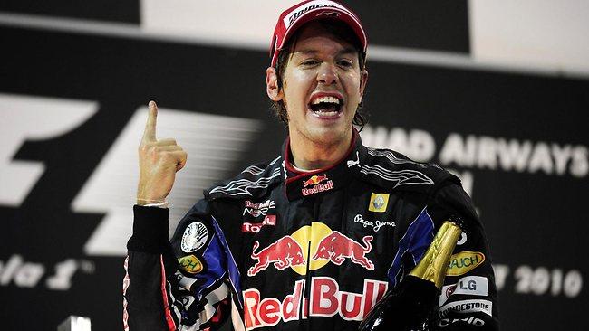 Vettel, el campeón del mundo más joven hasta la fecha