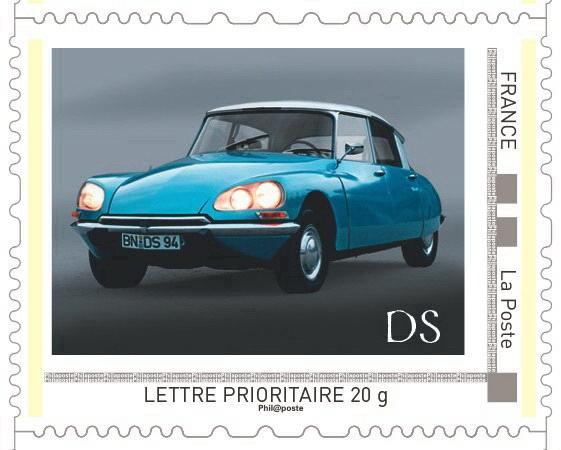 La historia de Citroën, recogida en una colección de sellos