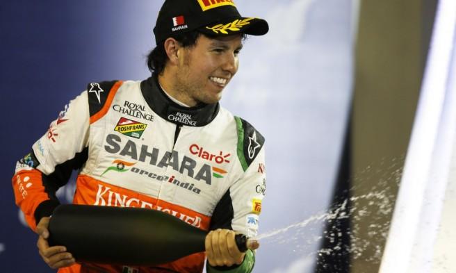 Sergio Pérez continuará varios años más en Force India