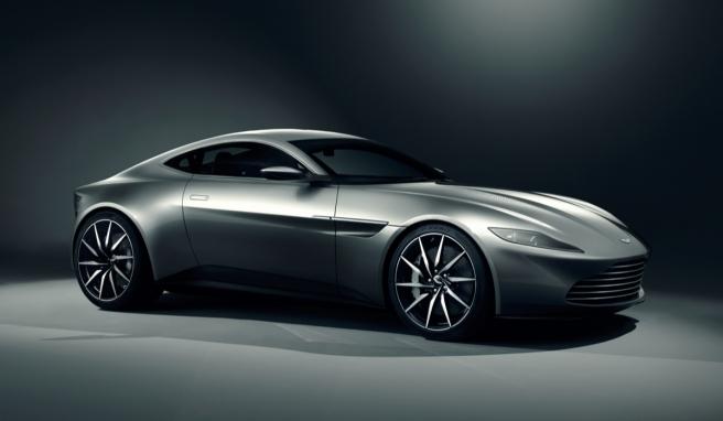 El nuevo Aston Martin DB10, una joya al servicio de Su Majestad