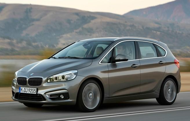 El nuevo BMW Serie 2 Active Tourer, uno de los siete finalistas del Coche del Año en Europa 2015