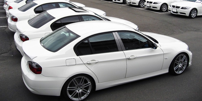 El color blanco, el favorito en la práctica totalidad de los coches del mundo
