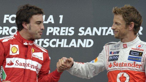 El Daily Mail afirma que finalmente será Button el compañero de Alonso en McLaren