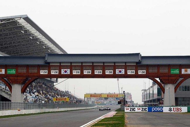El GP de Corea vuelve al calendario de la Förmula 1 en 2015