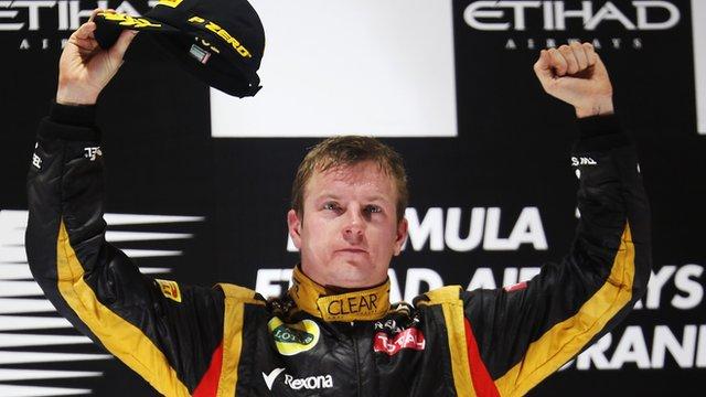 Lotus salda por fin su millonaria deuda con Kimi Raikkönen