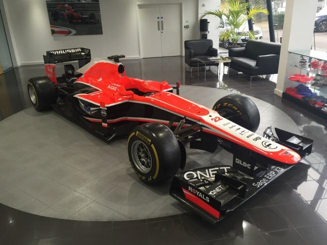 Marussia subastará todos sus coches en el portal de CA Global Partners