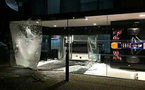 Asaltada la sede de Red Bull en Milton Keynes