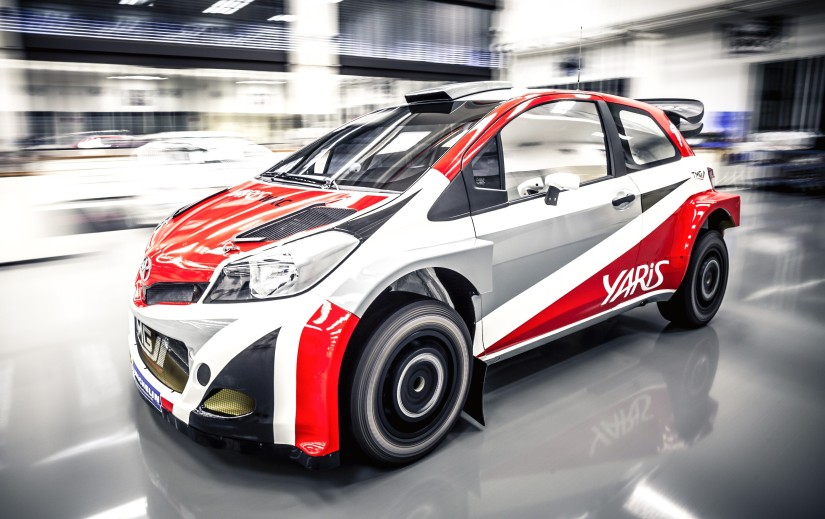 Toyota volverá al WRC en 2017 con un Yaris