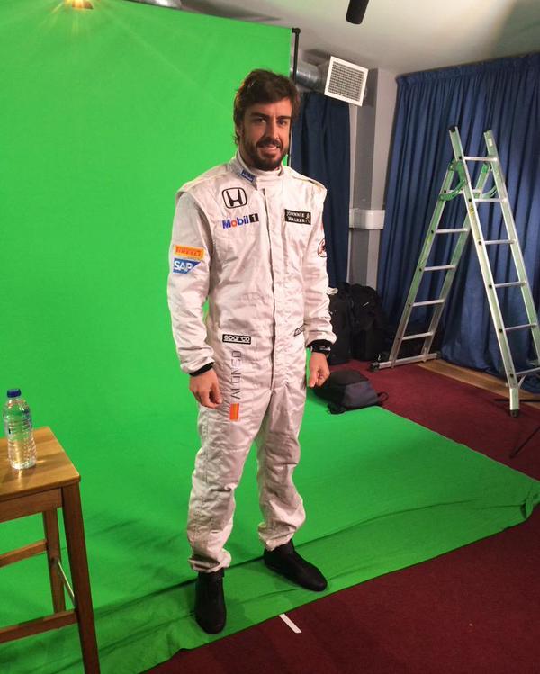 Fernando Alonso ya viste los colores de McLaren