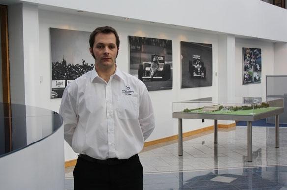 Andrew Murdoch, nuevo ingeniero jefe de desarrollo de Williams