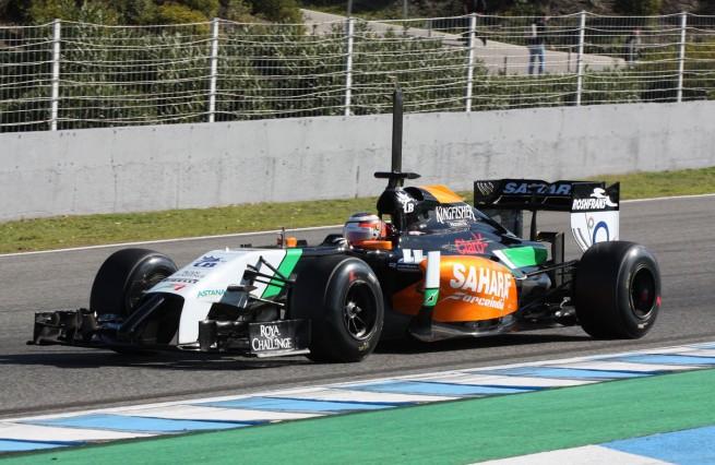Force India rodará en Jerez con el coche de 2014