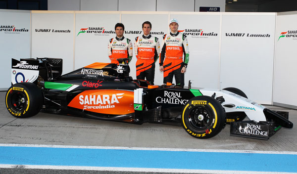 Force India, el primer equipo en anunciar su presentación para 2015