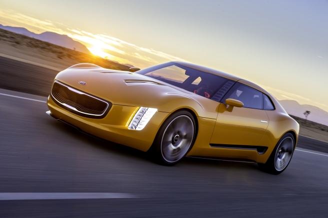 El diseño del Kia GT4 Stinger, galardonado con el Premio Good Design 2015