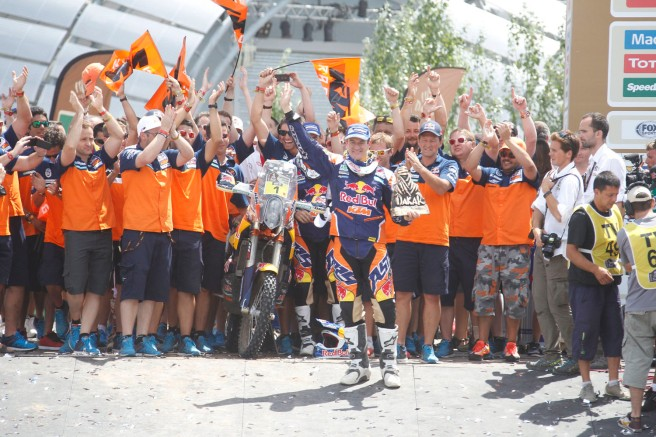 Marc Coma, brillante vencedor del Dakar 2015