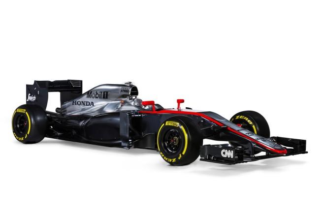 El nuevo McLaren recupera los colores del monoplaza de 2007
