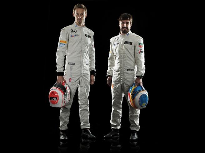 Jenson Button y Fernando Alonso, los pilotos de McLaren para 2015