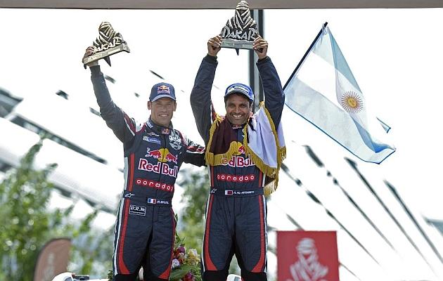 El qatarí Nasser Al-Attiyah gana su segundo Dakar