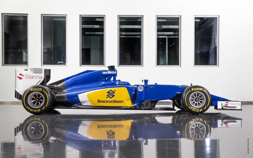 Sorprende la nueva combinación de colores del Sauber C34