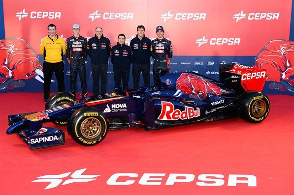 Toro Rosso y Cepsa volverán a presentar su coche en Jerez