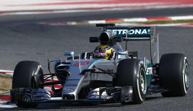 Pascal Wehriein tuvo que reemplazar a Lewis Hamilton por la enfermedad de este último