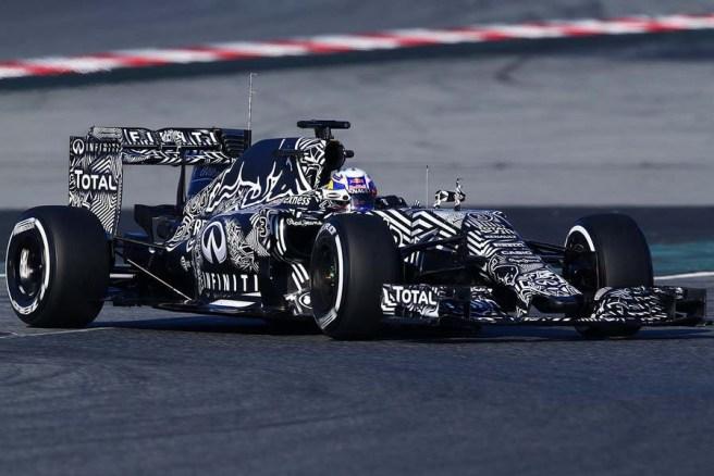 Buena actuación hoy de Daniel Ricciardo a bordo del Red Bull RB11