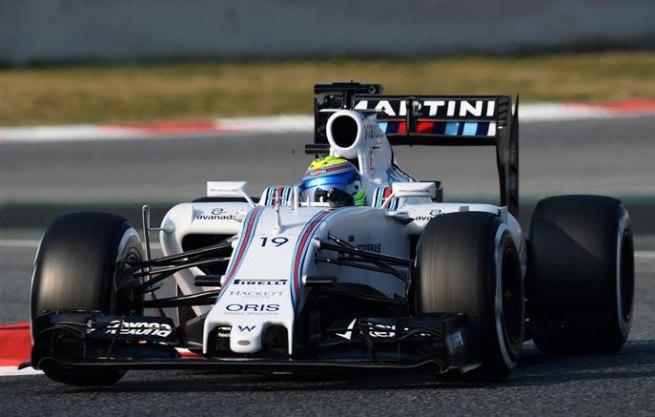 Felipe Massa ha devuelto a Williams a los primeros puestos de la tabla de tiempos