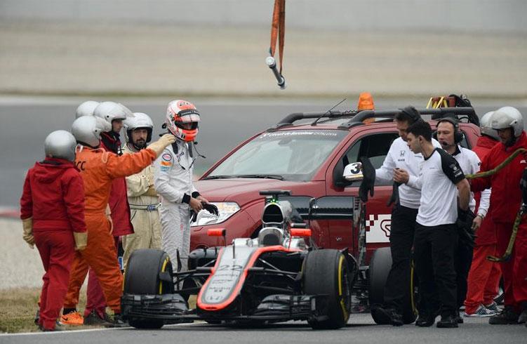 Jenson Button y McLaren suman una nueva decepción esta pretemporada