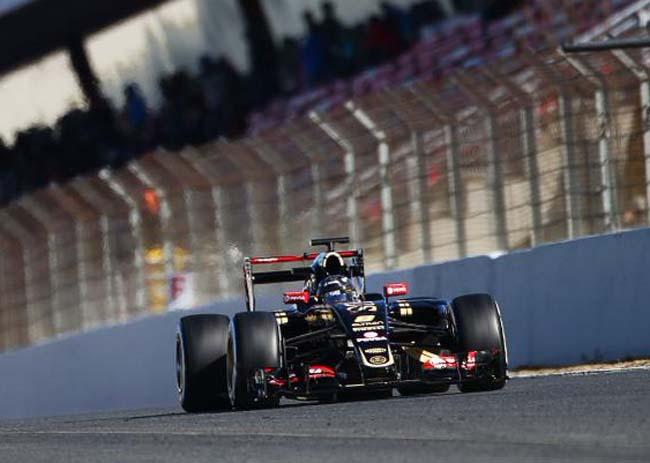 Romain Grosjean batió todos los cronos de estos cuatro días