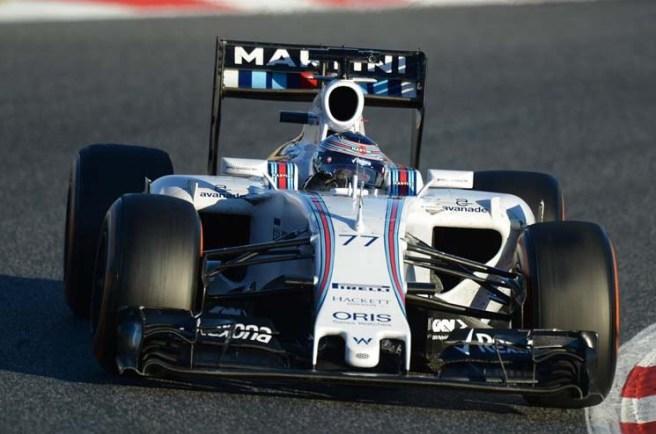 El Williams de Valtteri Bottas mejora cada sesión