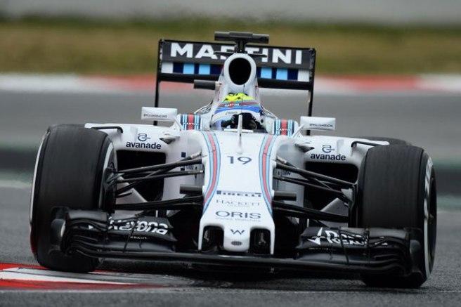 Felipe Massa ha triturado las registros de la pretemporada en Barcelona