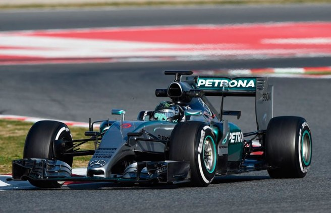 Golpe de mano de Nico Rosberg y Mercedes hoy en Montmeló