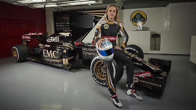 La valenciana Carmen Jordá, sorprendente nueva piloto de desarrollo de Lotus