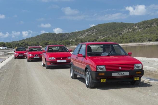 El Seat Ibiza cumple 30 años en el mercado