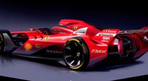Impresionante trabajo del Equipo de Diseño de Ferrari con este prototipo