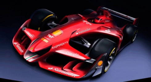 El Ferrari Formula 1 Concept adelanta las líneas maestras del futuro de la F1