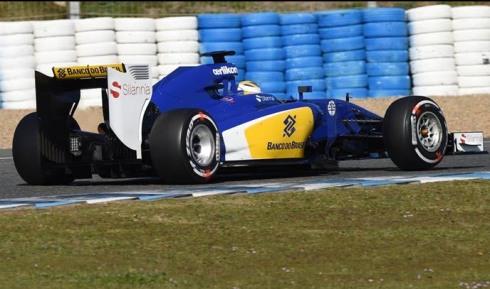 Marcus Ericsson sorprendió a todos y finalizó segundo hoy en Jerez