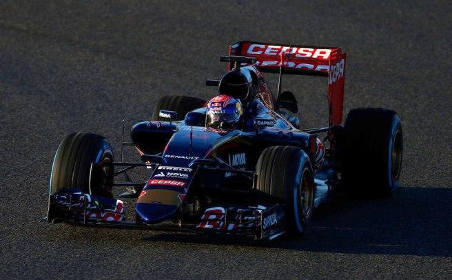 Excelente día hoy para Toro Rosso y Max Verstappen