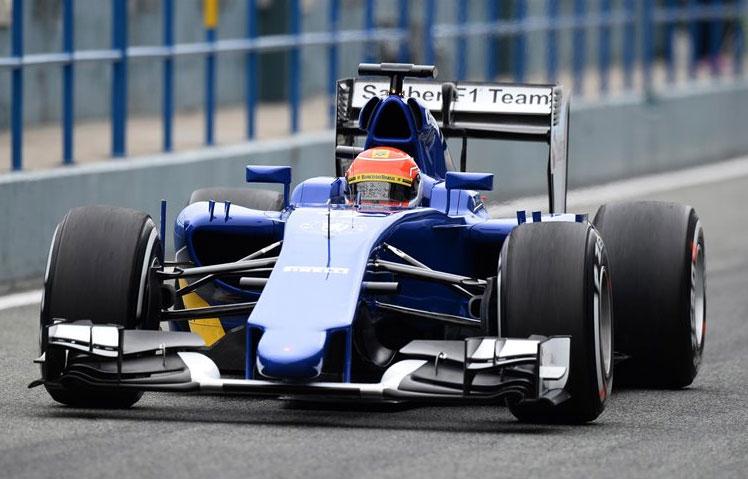 El brasileño Felipe Nasr, segundo en su debut en Sauber