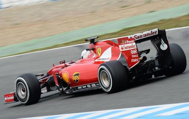 Sebastian Vettel, de nuevo el más rápido hoy en Jerez