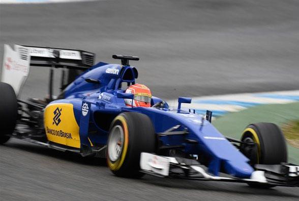 Felipe Nasr sorprendió a todos marcando el mejor tiempo hoy en Jerez
