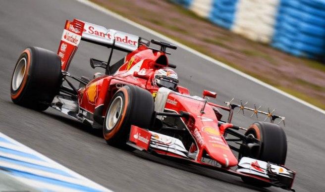 Kimi Raikkönen marcó el segundo mejor tiempo del día