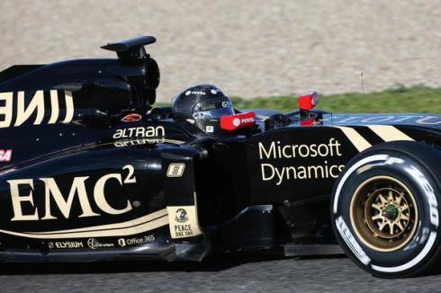 Romain Grosjean se ha subido hoy por vez primera al nuevo Lotus E23