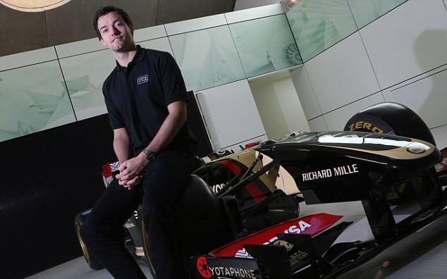 Jolyon Palmer debutará con Lotus en Barcelona