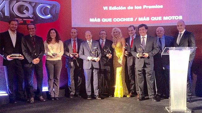 Entrega de los Premios Mas Que Coches 2015