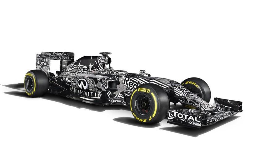 Sorprendente decoración la del nuevo Red Bull RB11
