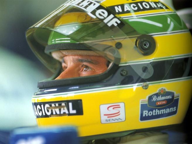 El casco amarillo y verde de Ayrton Senna, tan mítico como su dueño